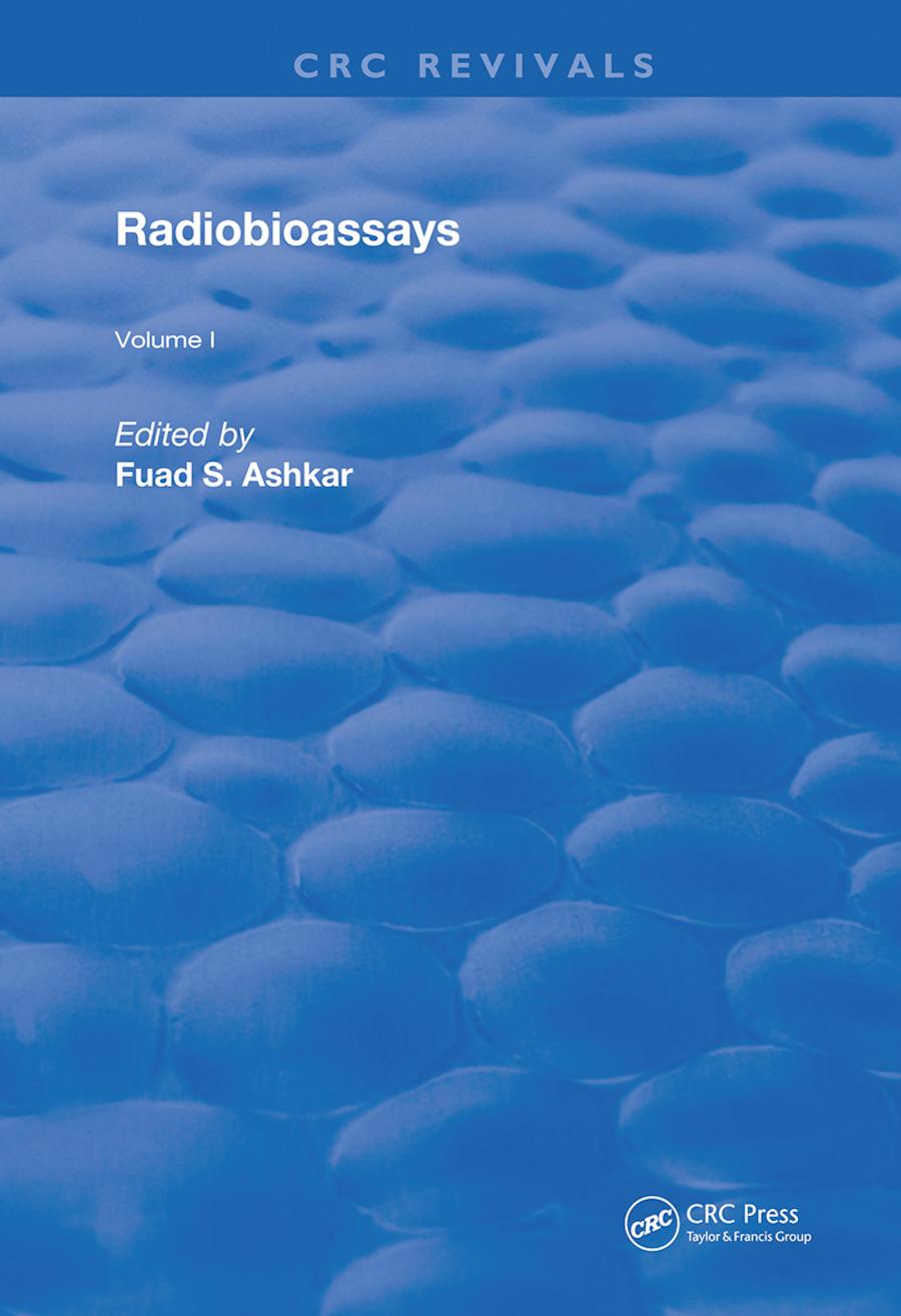 Radiobioassays: 1st Edition (Hardback) book cover
