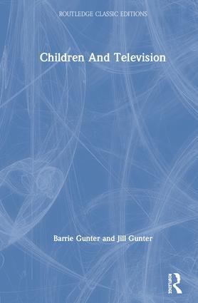 Children & Television book cover