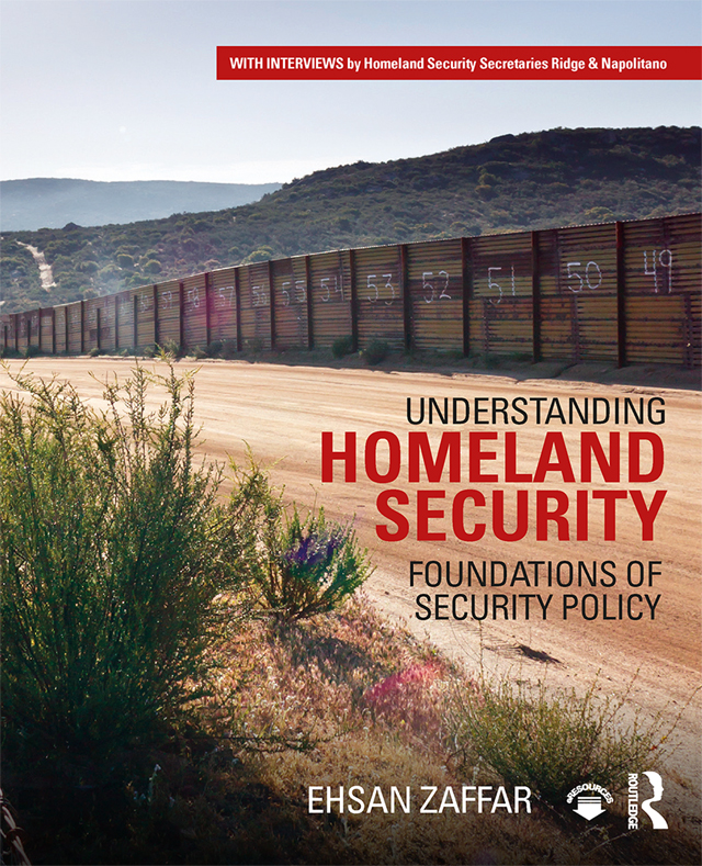 Understanding Homeland Security: Foundations of Security Policy book cover