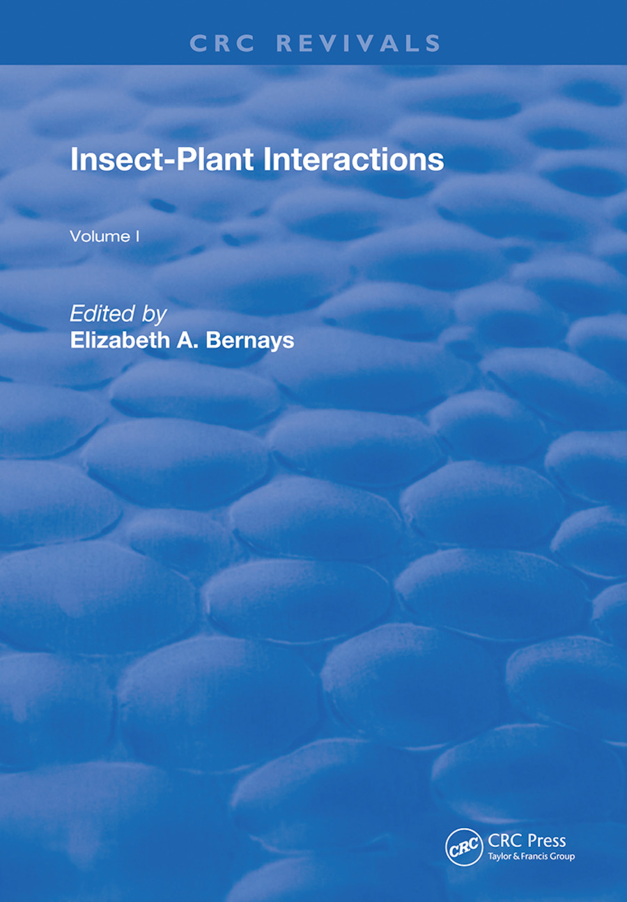 Insect-Plant Interactions: 1st Edition (Hardback) book cover