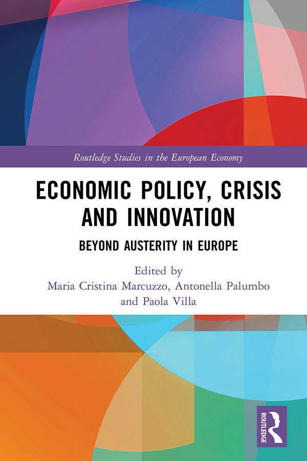 Economic Policy, Crisis and Innovation: Beyond Austerity in Europe, 1st Edition (Hardback) book cover