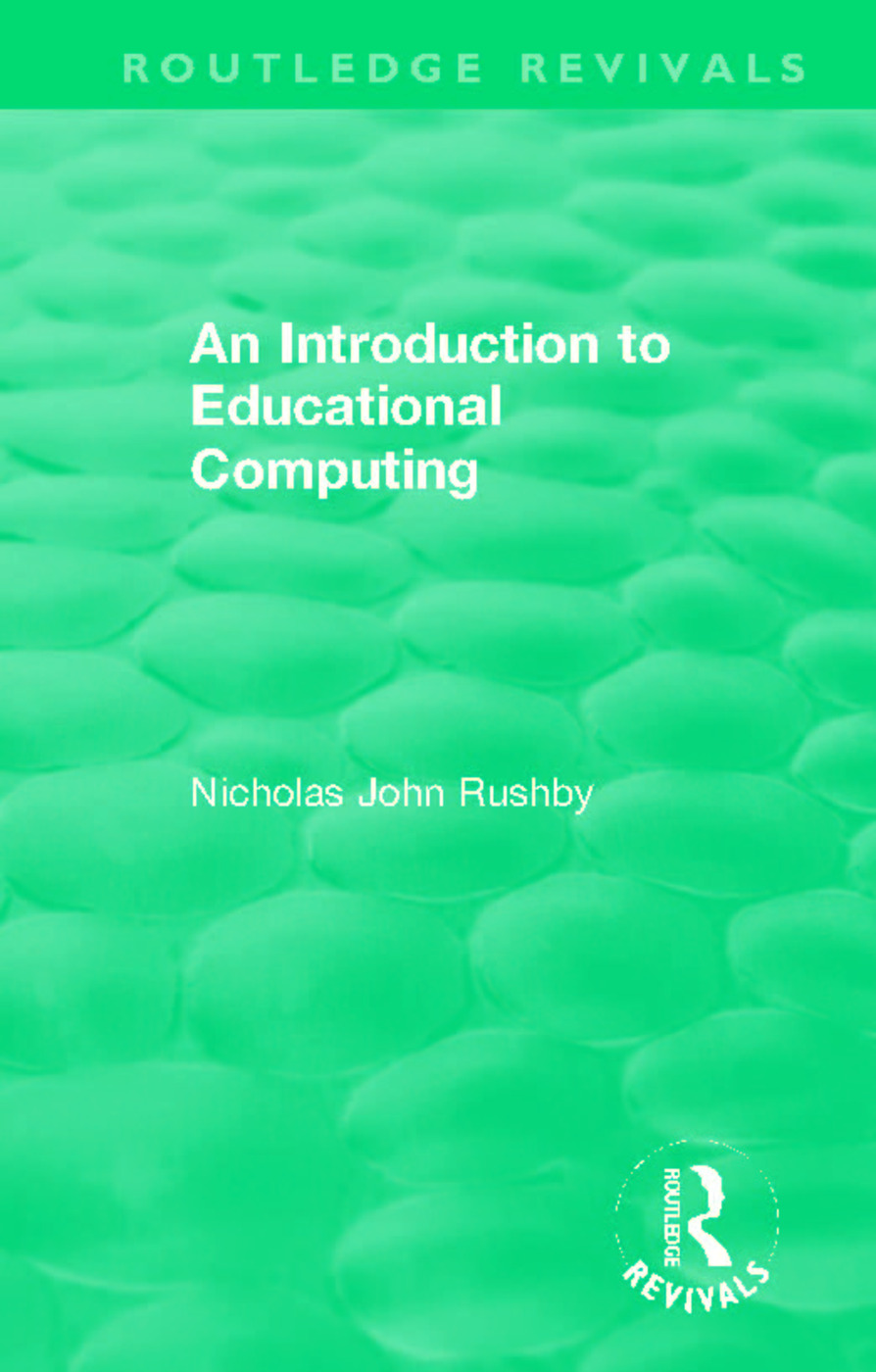 An Introduction to Educational Computing book cover