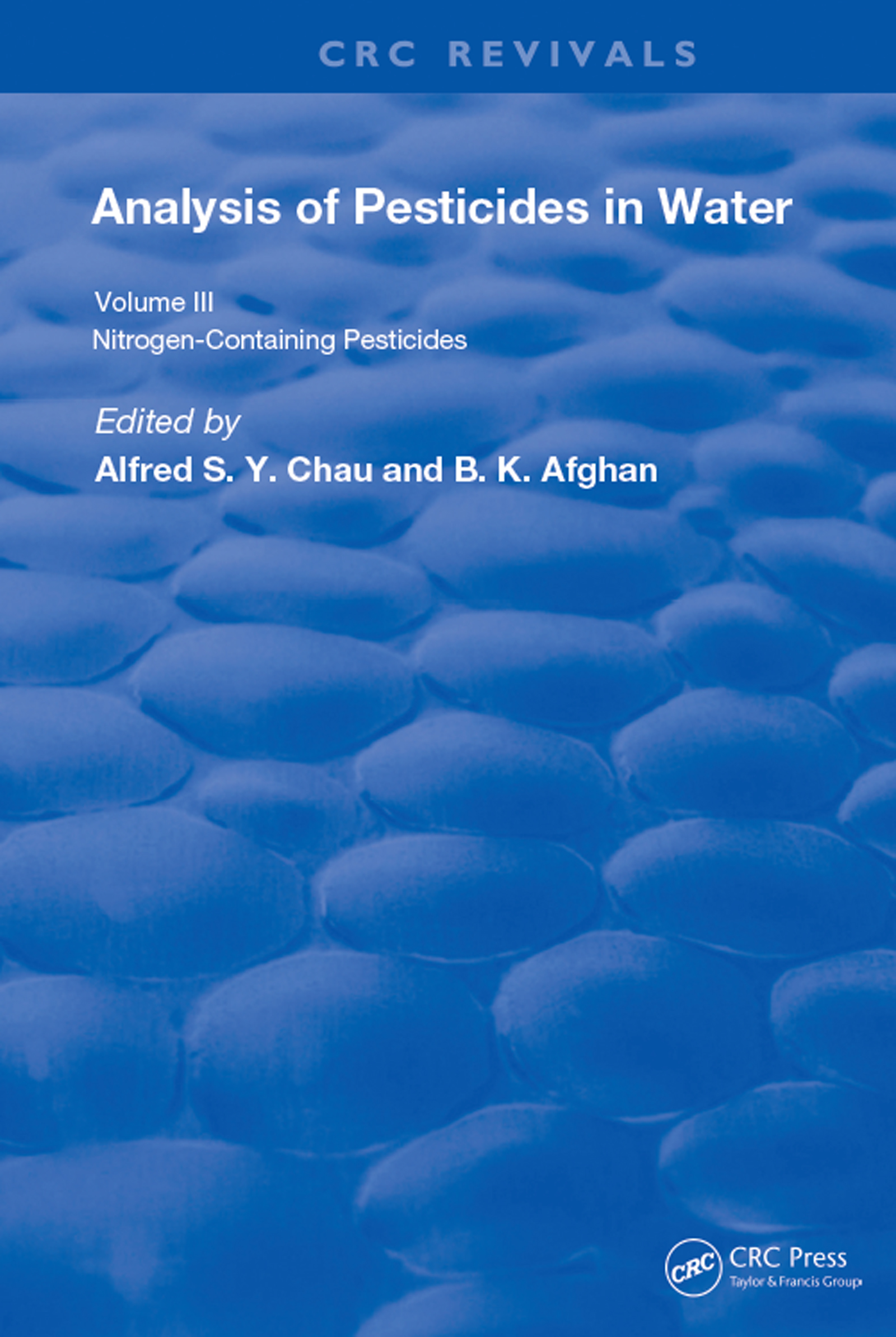 Anal Of Pest In Water Anal Nitrogen Cont Pest: 1st Edition (Hardback) book cover