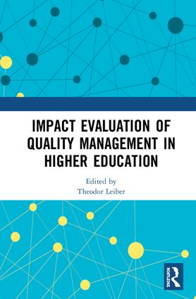 Impact Evaluation of Quality Management in Higher Education book cover