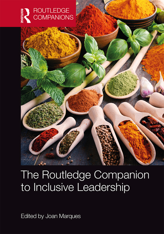 The Routledge Companion to Inclusive Leadership book cover