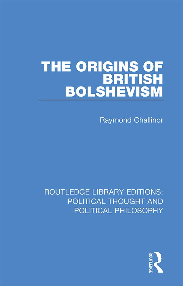 The Origins of British Bolshevism book cover