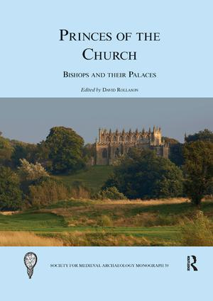 Princes of the Church: Bishops and their Palaces, 1st Edition (Paperback) book cover