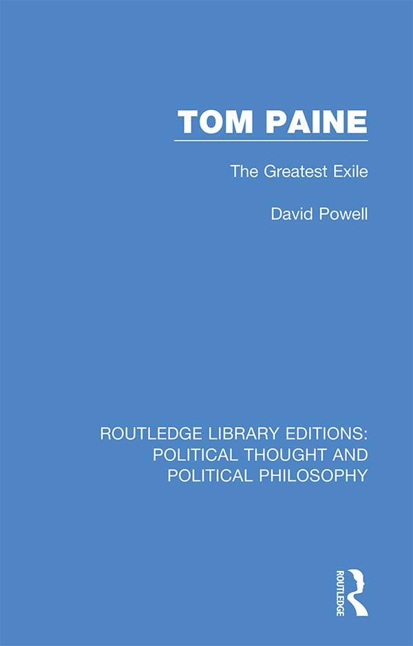 Tom Paine: The Greatest Exile book cover