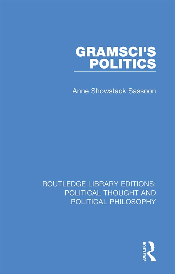 Gramsci's Politics book cover