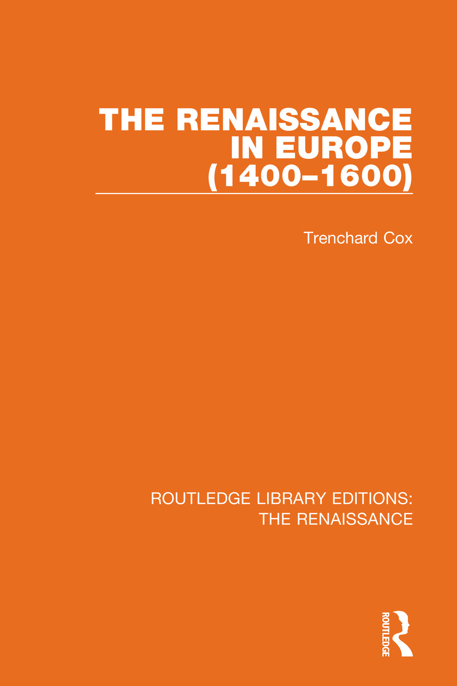 The Renaissance in Europe book cover