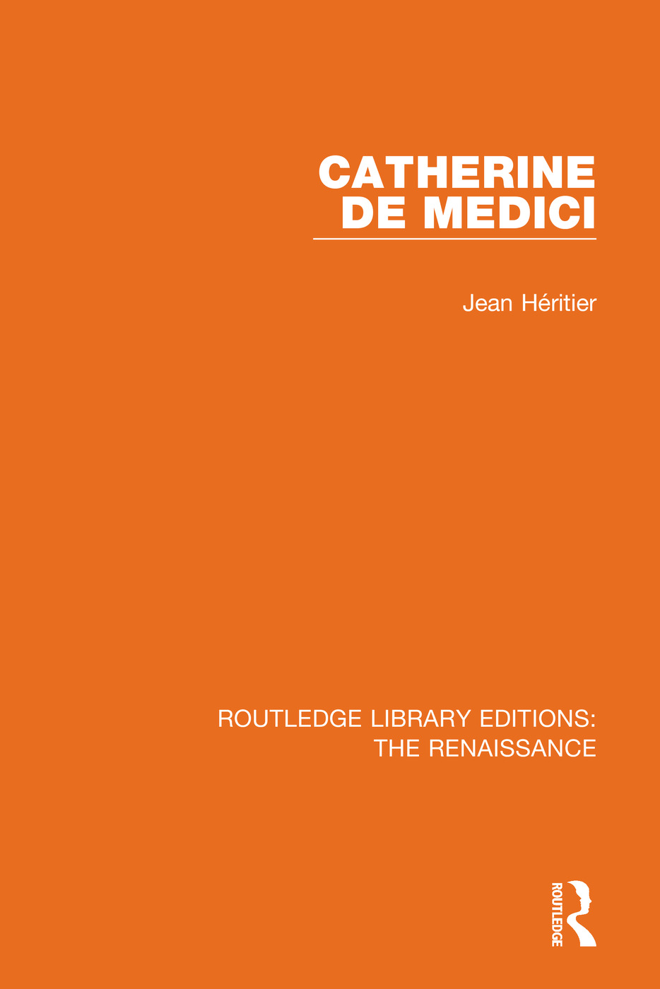Catherine de Medici book cover
