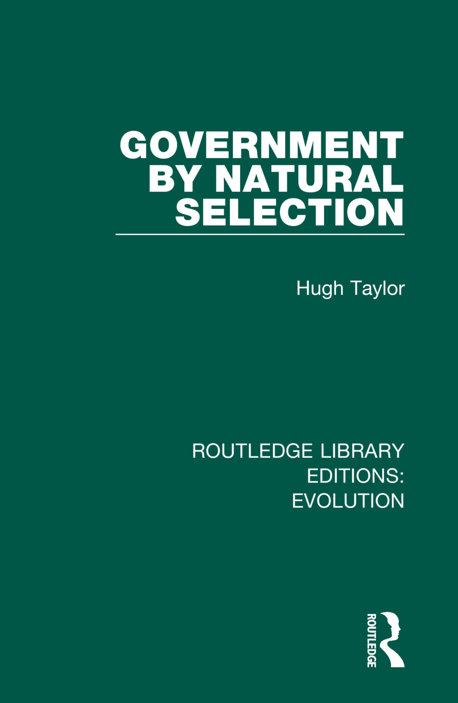 Government by Natural Selection book cover