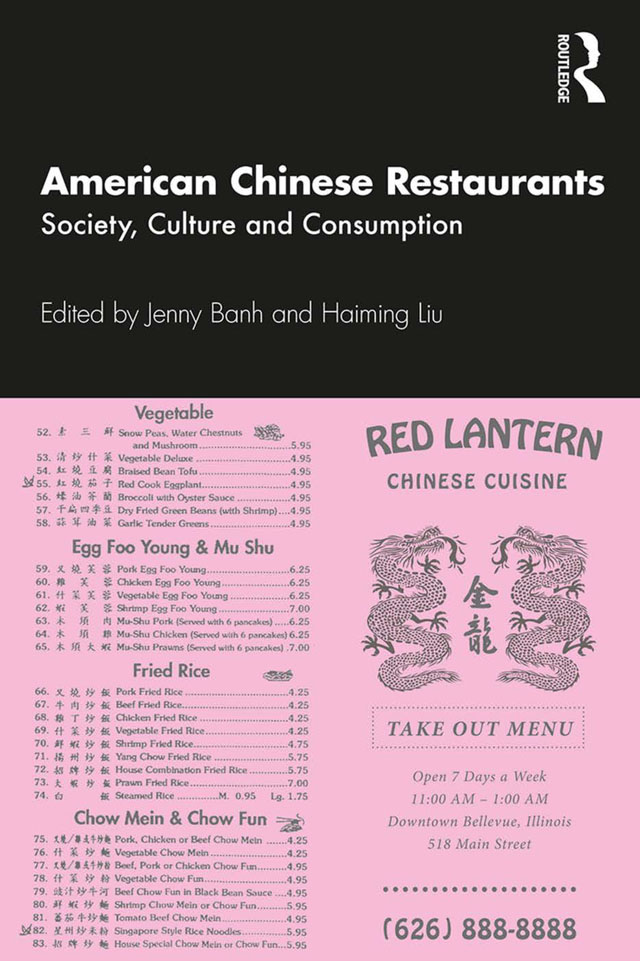 American Chinese Restaurants: Society, Culture and Consumption book cover