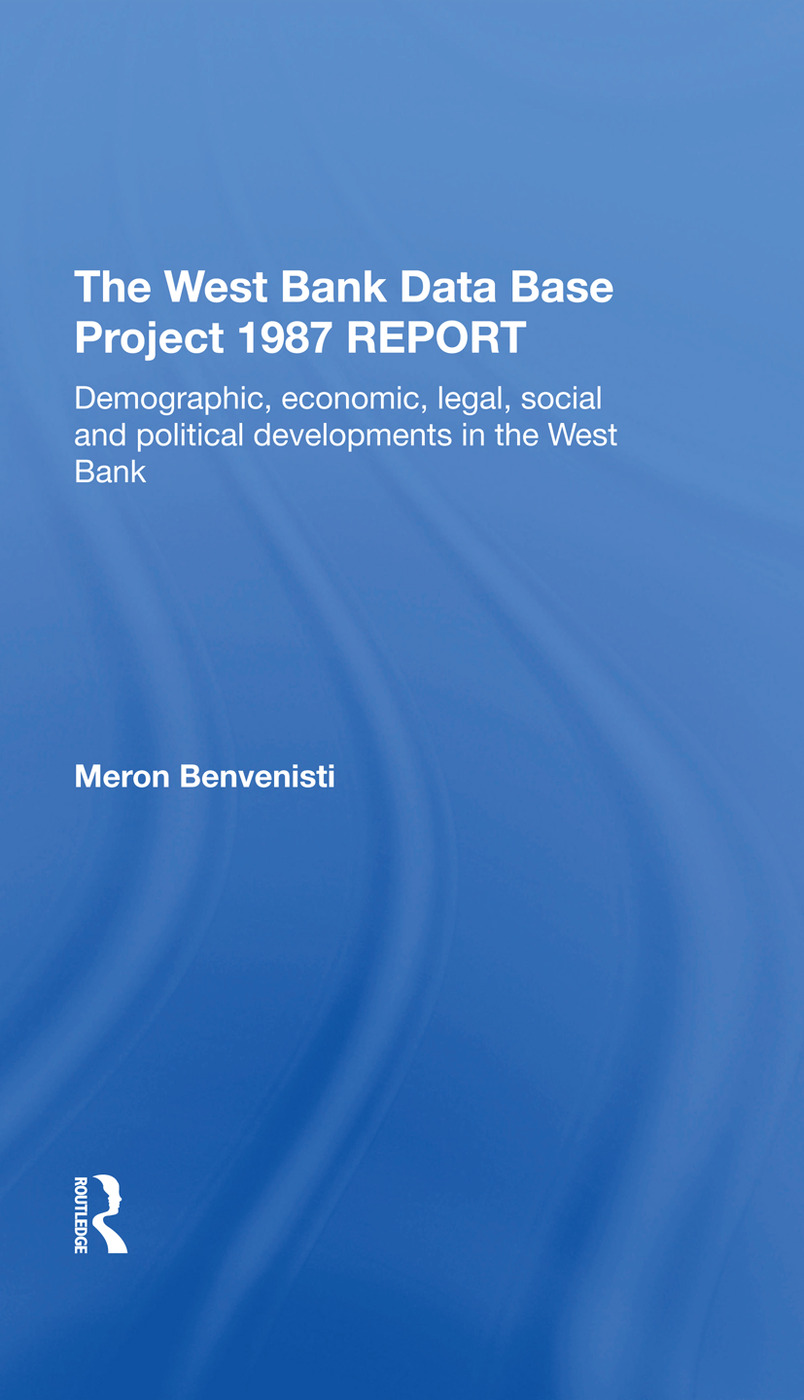 The West Bank Data Base Project 1887 Report