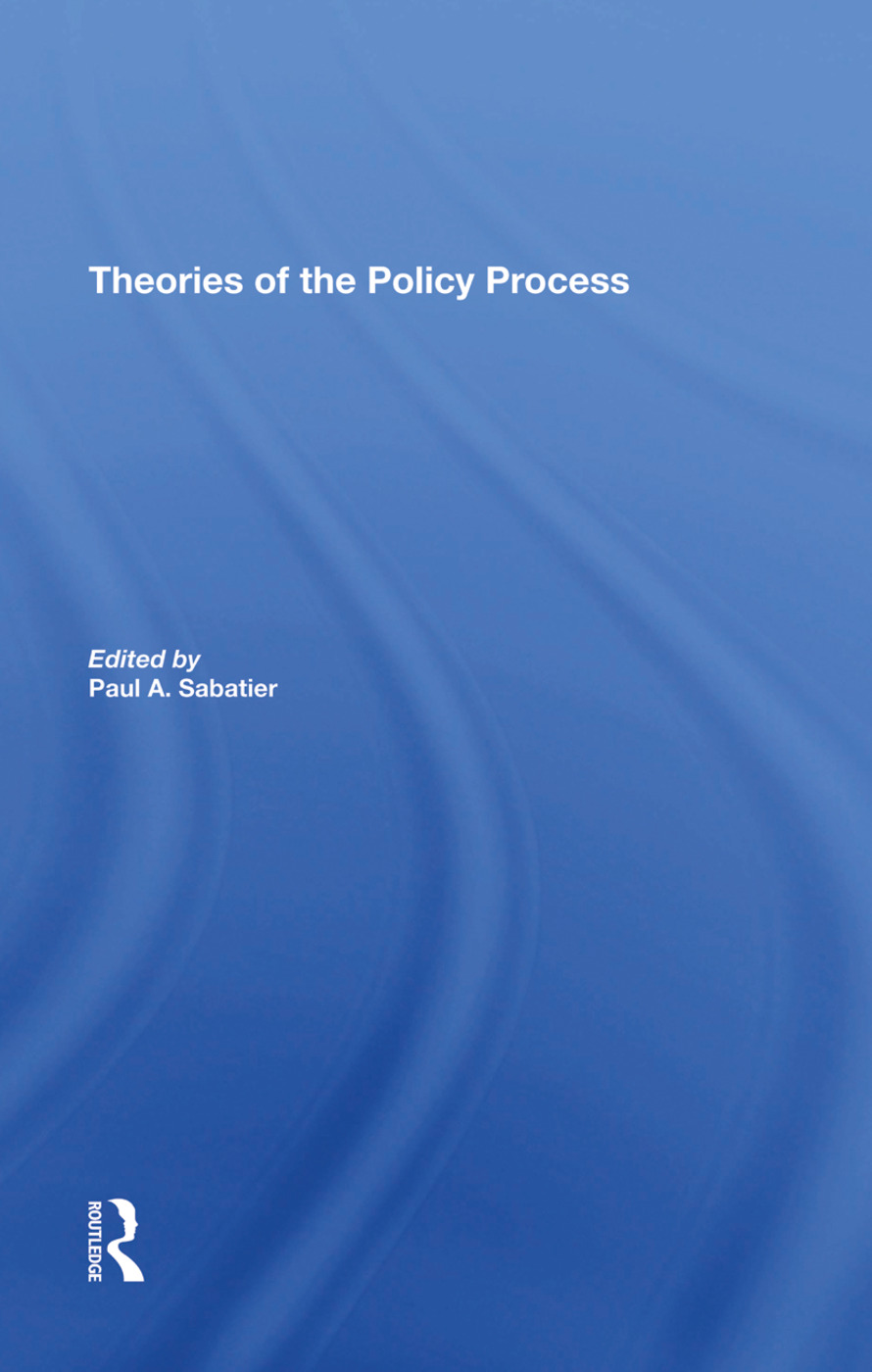 Theories of the Policy Process, Second Edition book cover