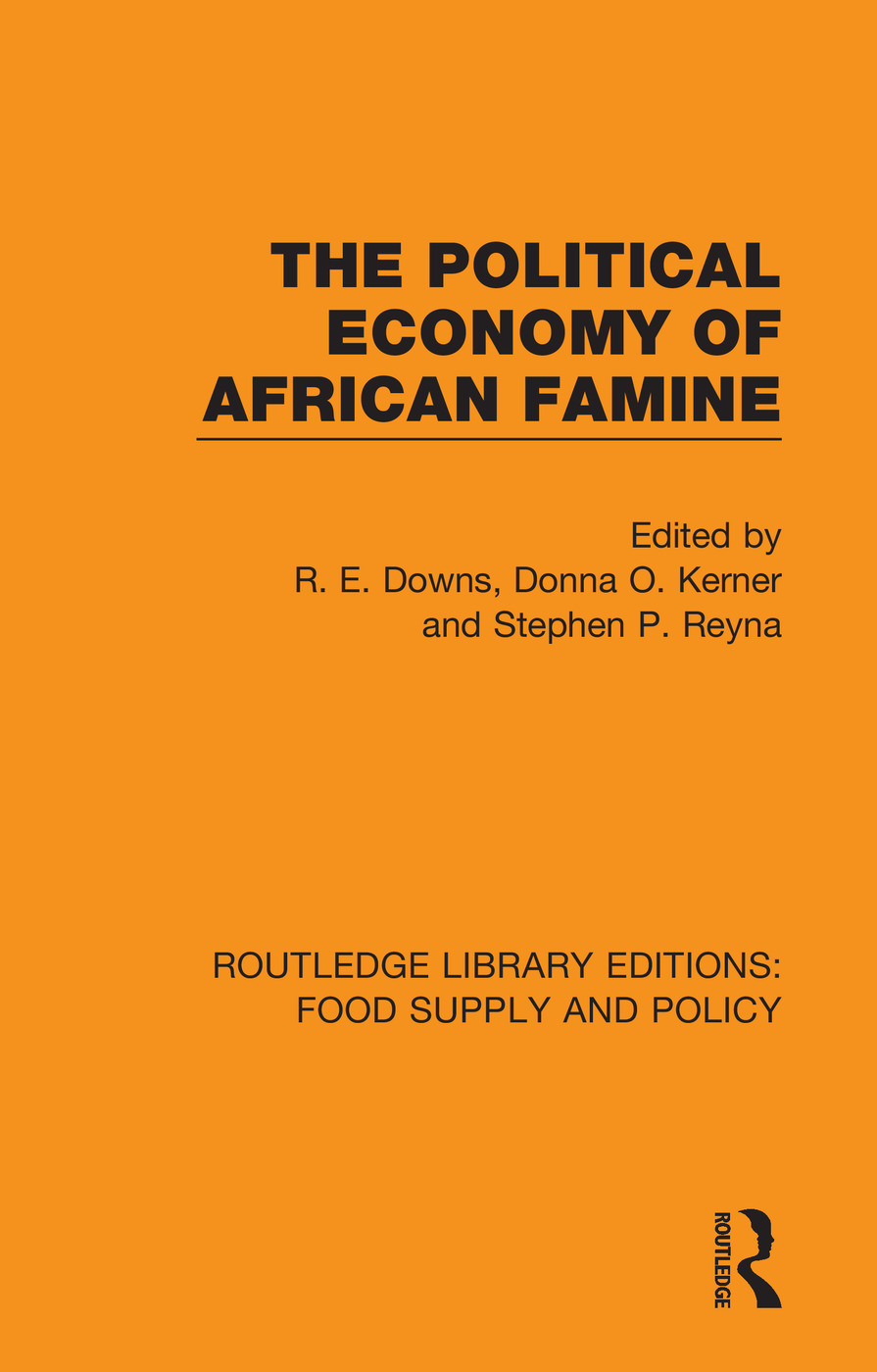 The Political Economy of African Famine book cover