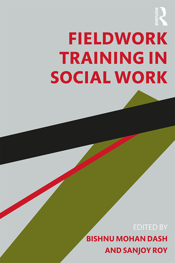 Fieldwork Training in Social Work book cover