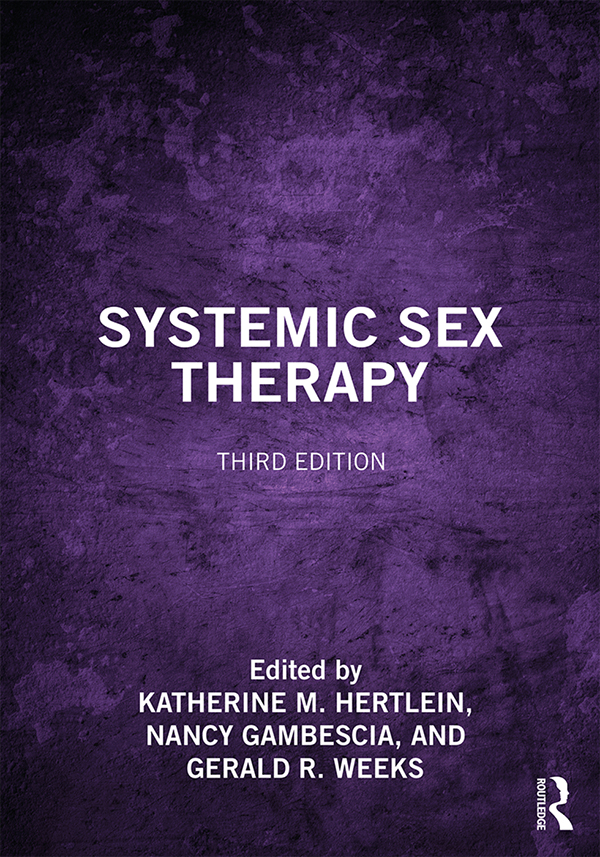 Systemic Sex Therapy book cover