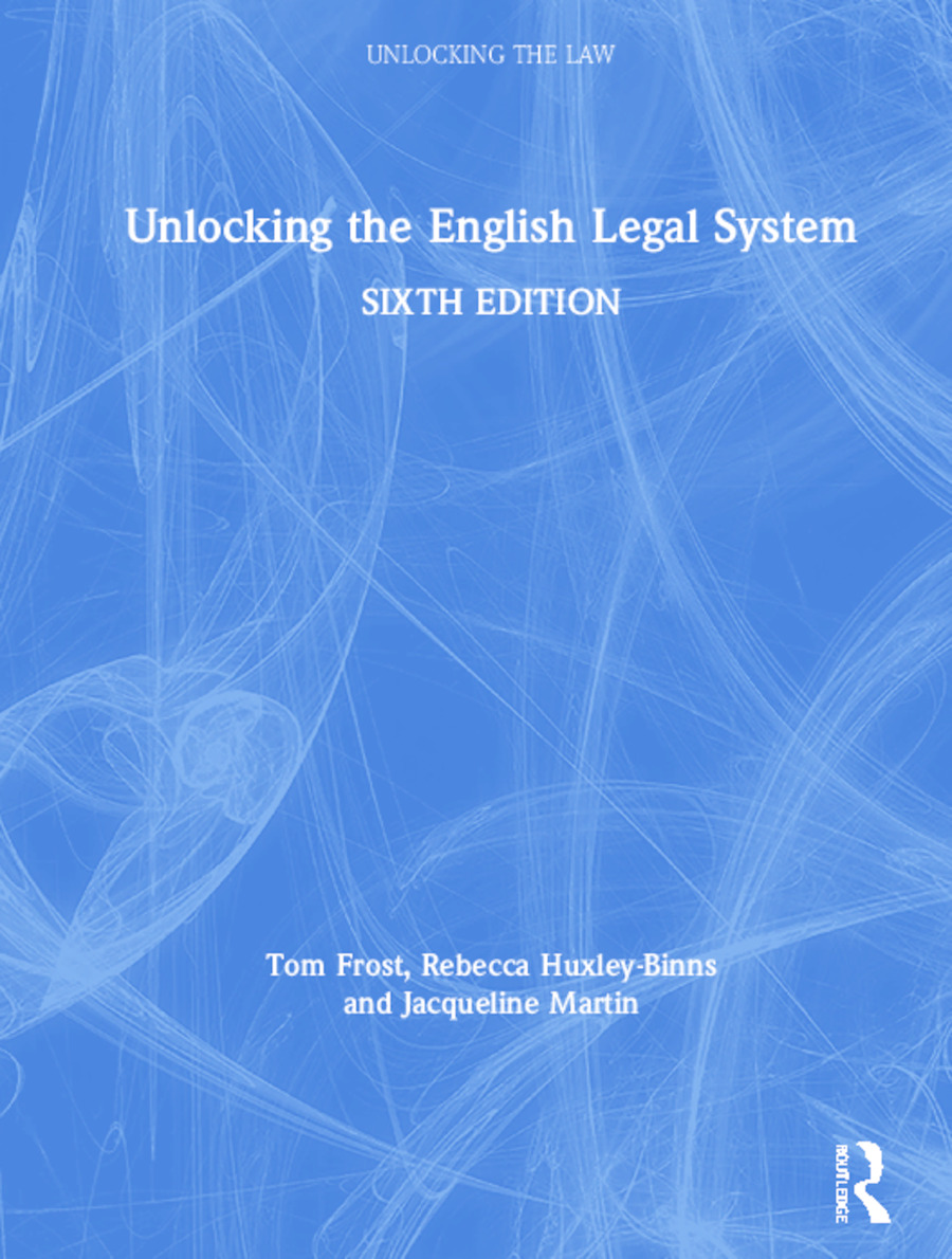 Unlocking the English Legal System book cover