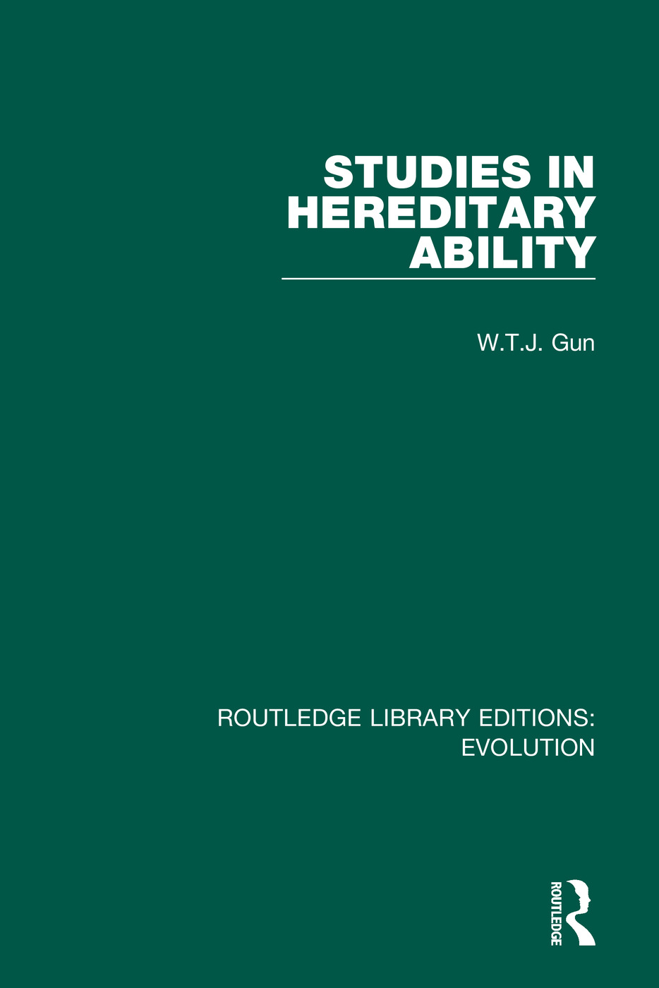 Studies in Hereditary Ability: 1st Edition (e-Book) book cover