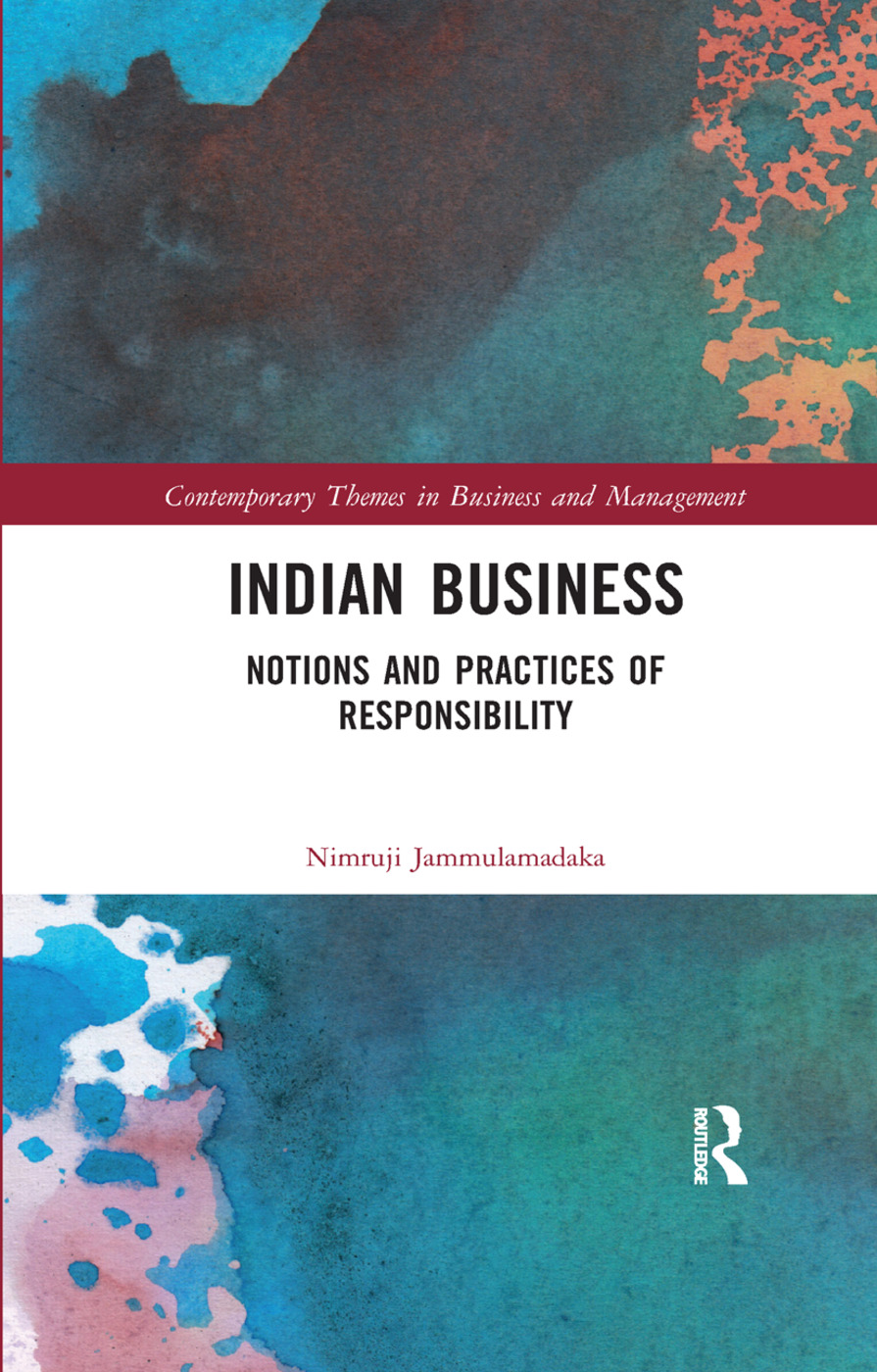 Indian Business: Notions and Practices of Responsibility, 1st Edition (Paperback) book cover