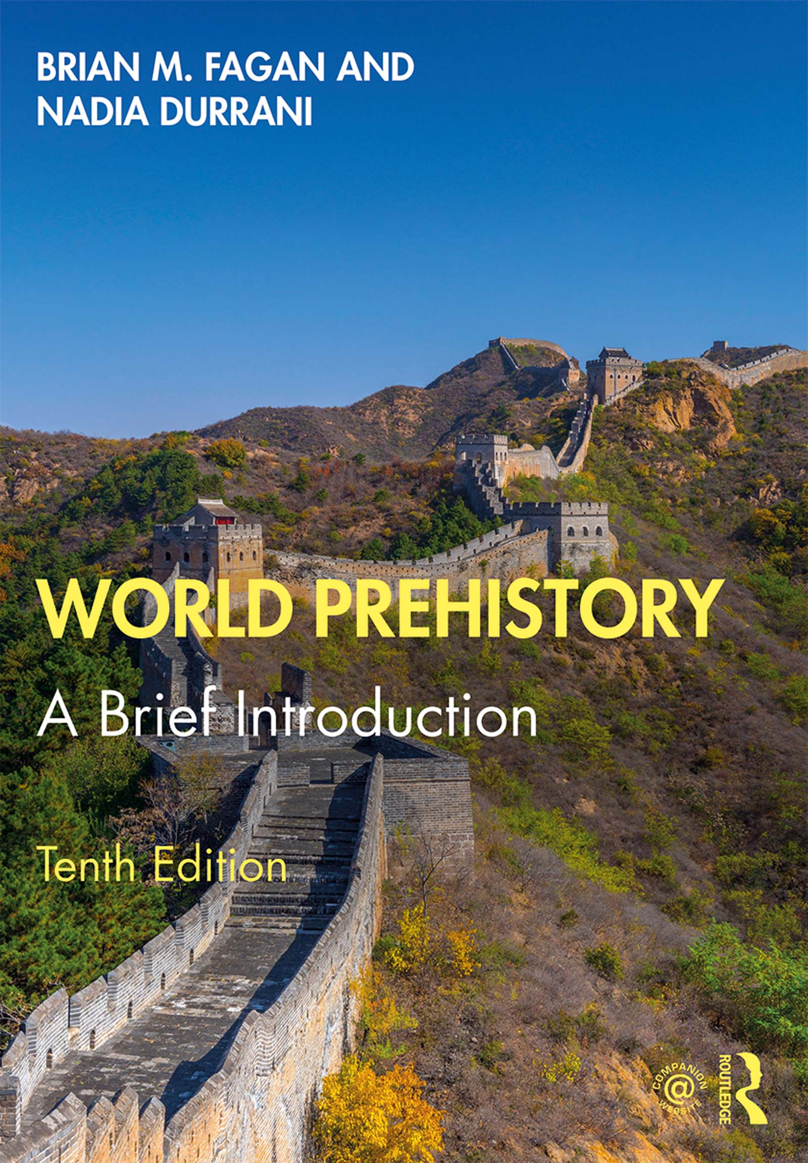 World Prehistory: A Brief Introduction book cover