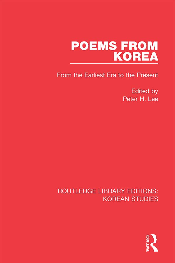 Poems from Korea: From the Earliest Era to the Present book cover