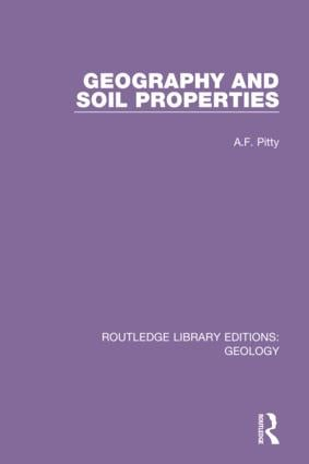 Geography and Soil Properties book cover