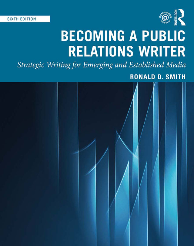 Becoming a Public Relations Writer: Strategic Writing for Emerging and Established Media book cover