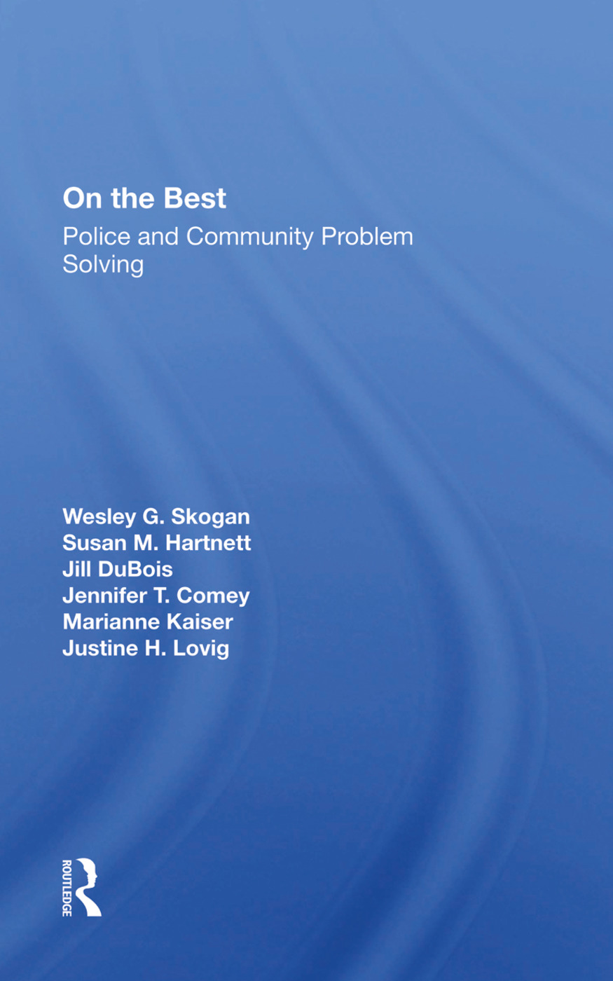 On The Beat: Police And Community Problem Solving, 1st Edition (Hardback) book cover