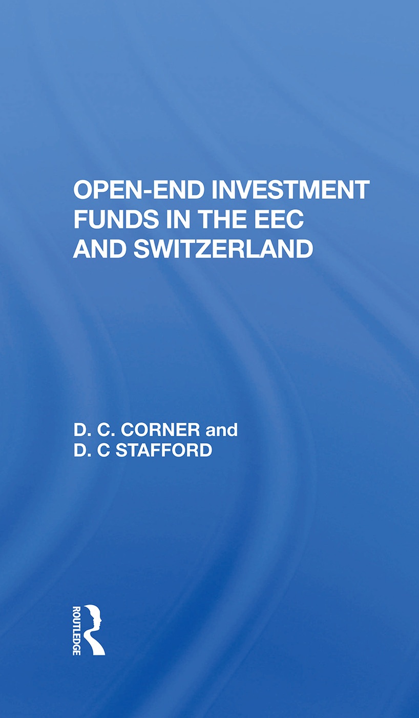 Openend Investment Fund: 1st Edition (Hardback) book cover