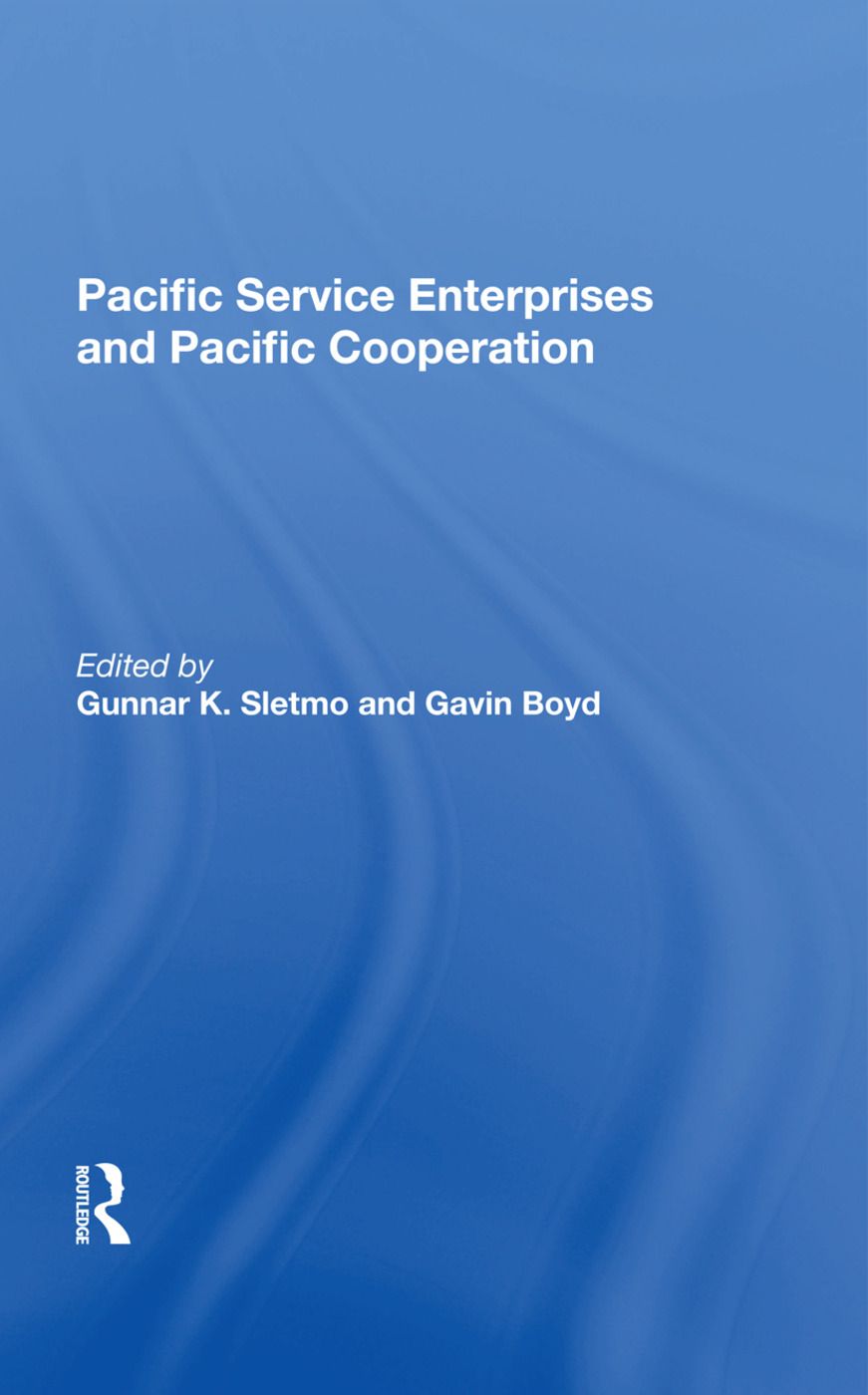 Pacific Service Enterprises And Pacific Cooperation: 1st Edition (Hardback) book cover