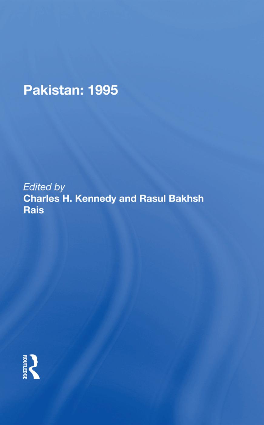Pakistan 1995: 1st Edition (Hardback) book cover