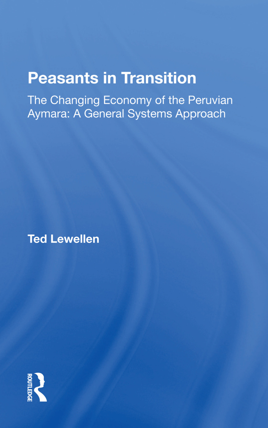 Peasants In Transition/h: 1st Edition (Hardback) book cover