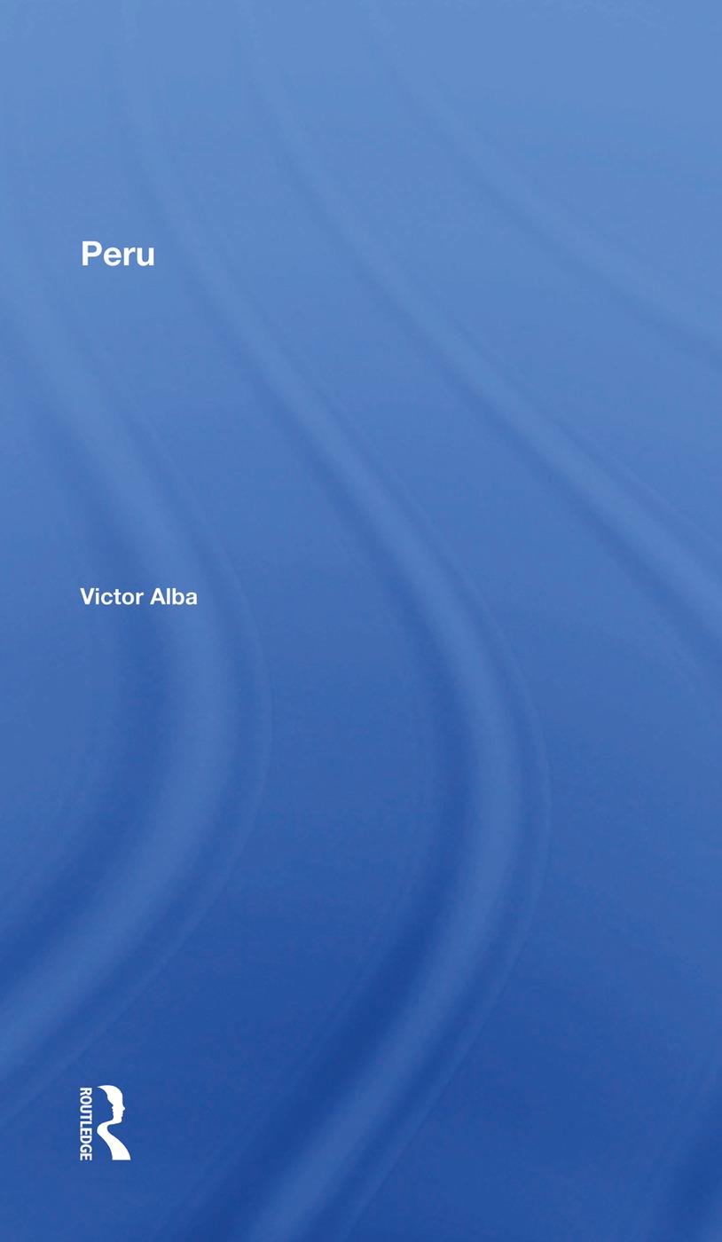 Peru: 1st Edition (Hardback) book cover