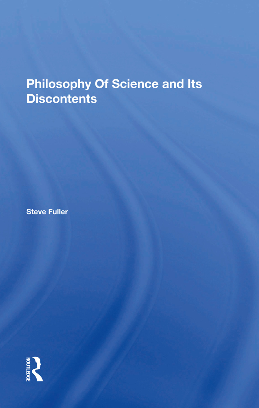 Philosophy Of Science And Its Discontents: 1st Edition (Hardback) book cover