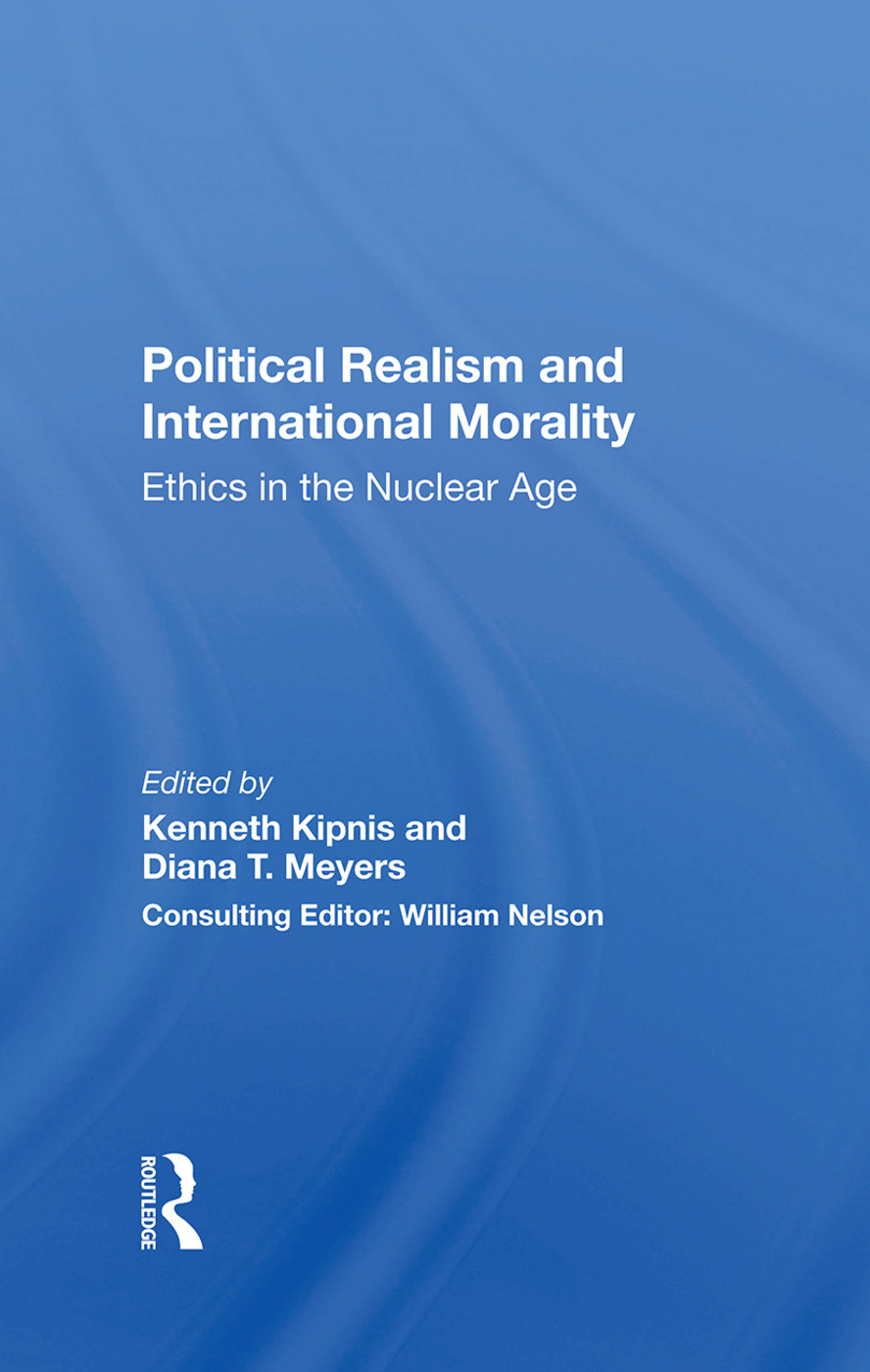 Political Realism and International Morality
