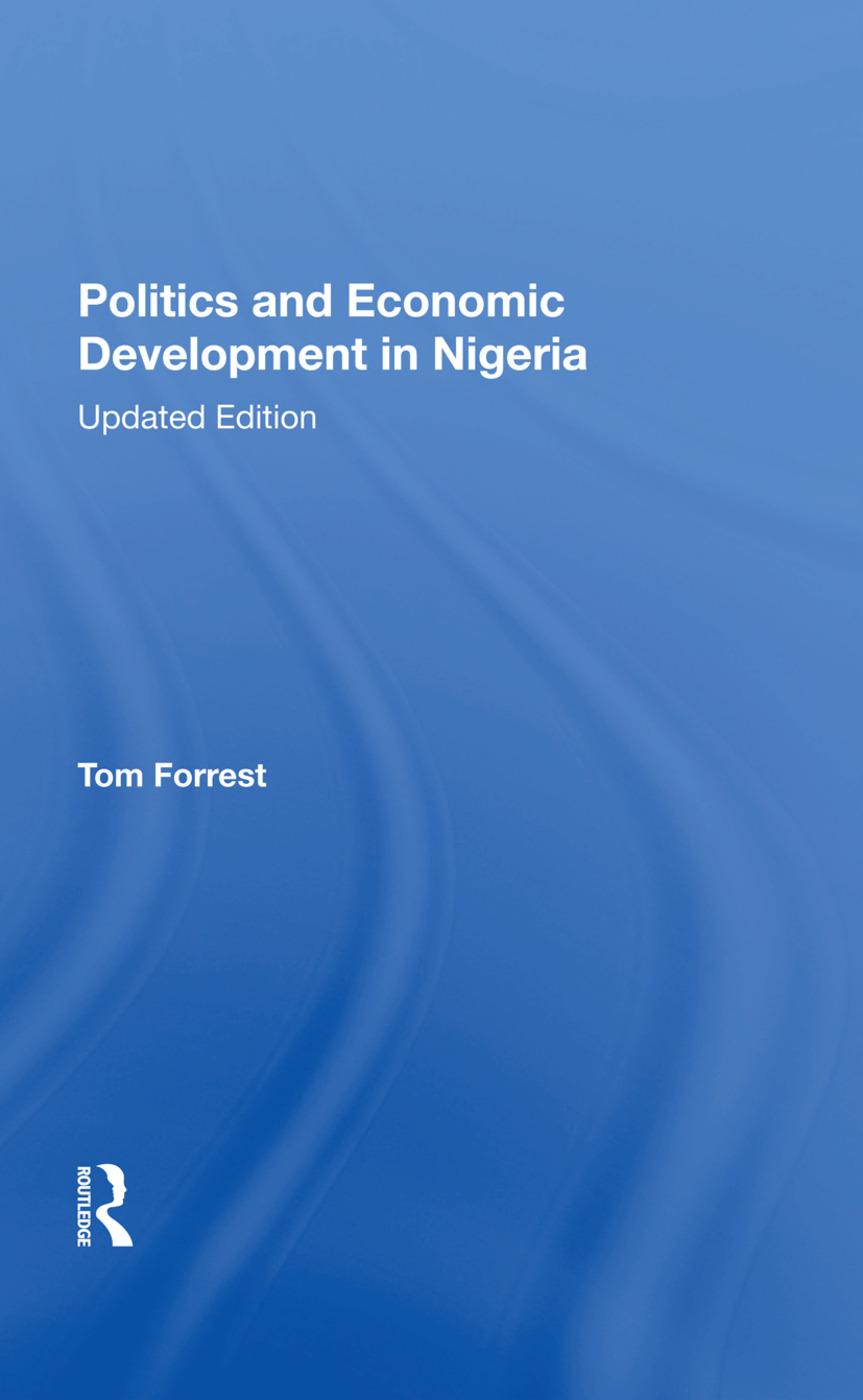 Politics And Economic Development In Nigeria: Updated Edition book cover