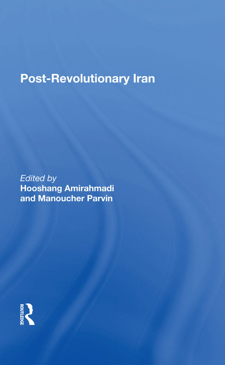Postrevolutionary Iran: 1st Edition (Hardback) book cover