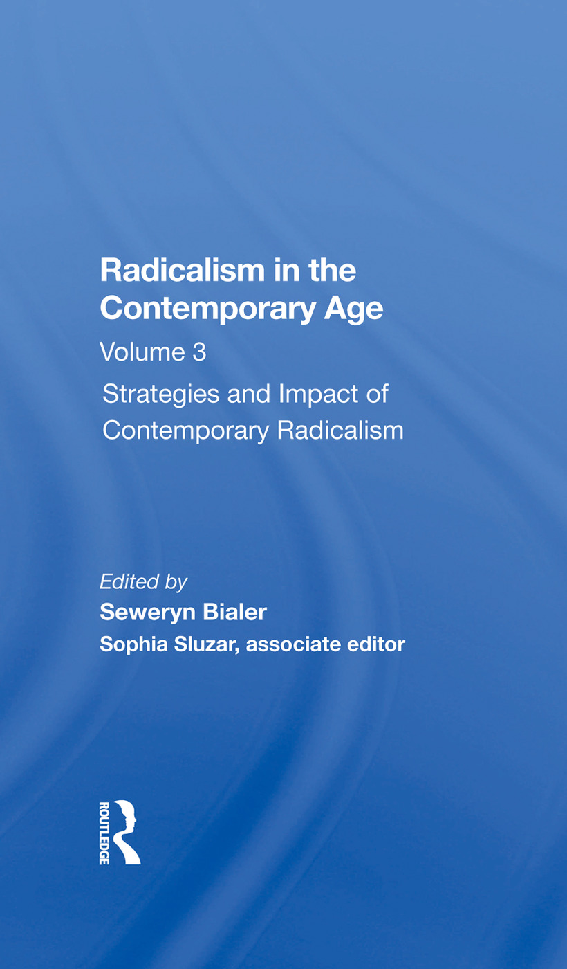 Radicalism in the Contemporary Age