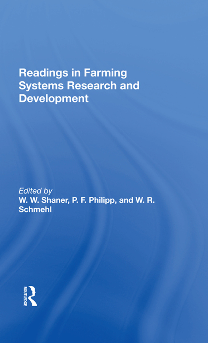 Readings In Farming Systems Research And Development: 1st Edition (Hardback) book cover