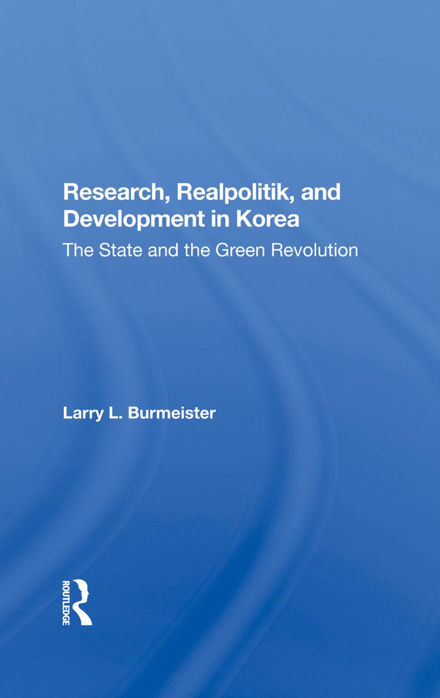 Research, Realpolitik, And Development In Korea