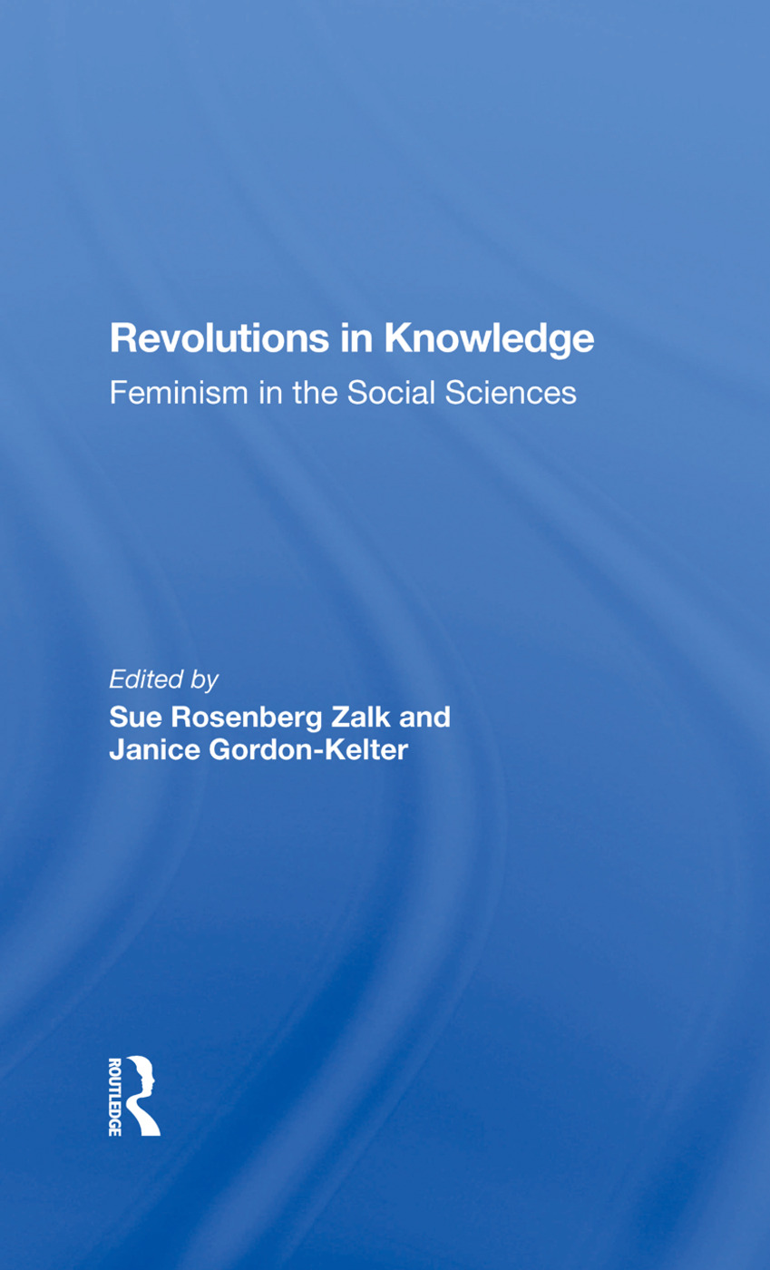 Revolutions In Knowledge: Feminism In The Social Sciences book cover