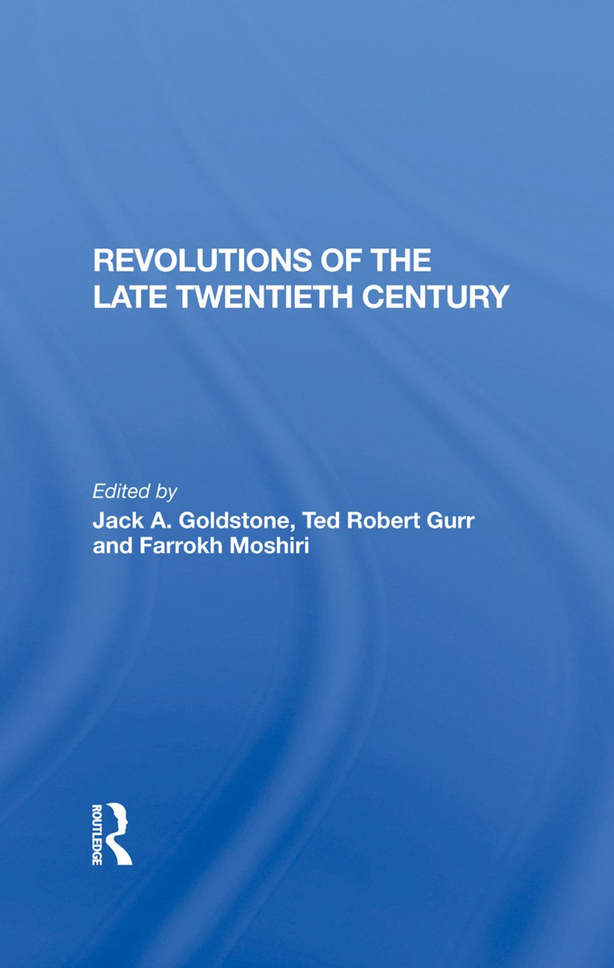 Revolutions Of The Late Twentieth Century: 1st Edition (Hardback) book cover