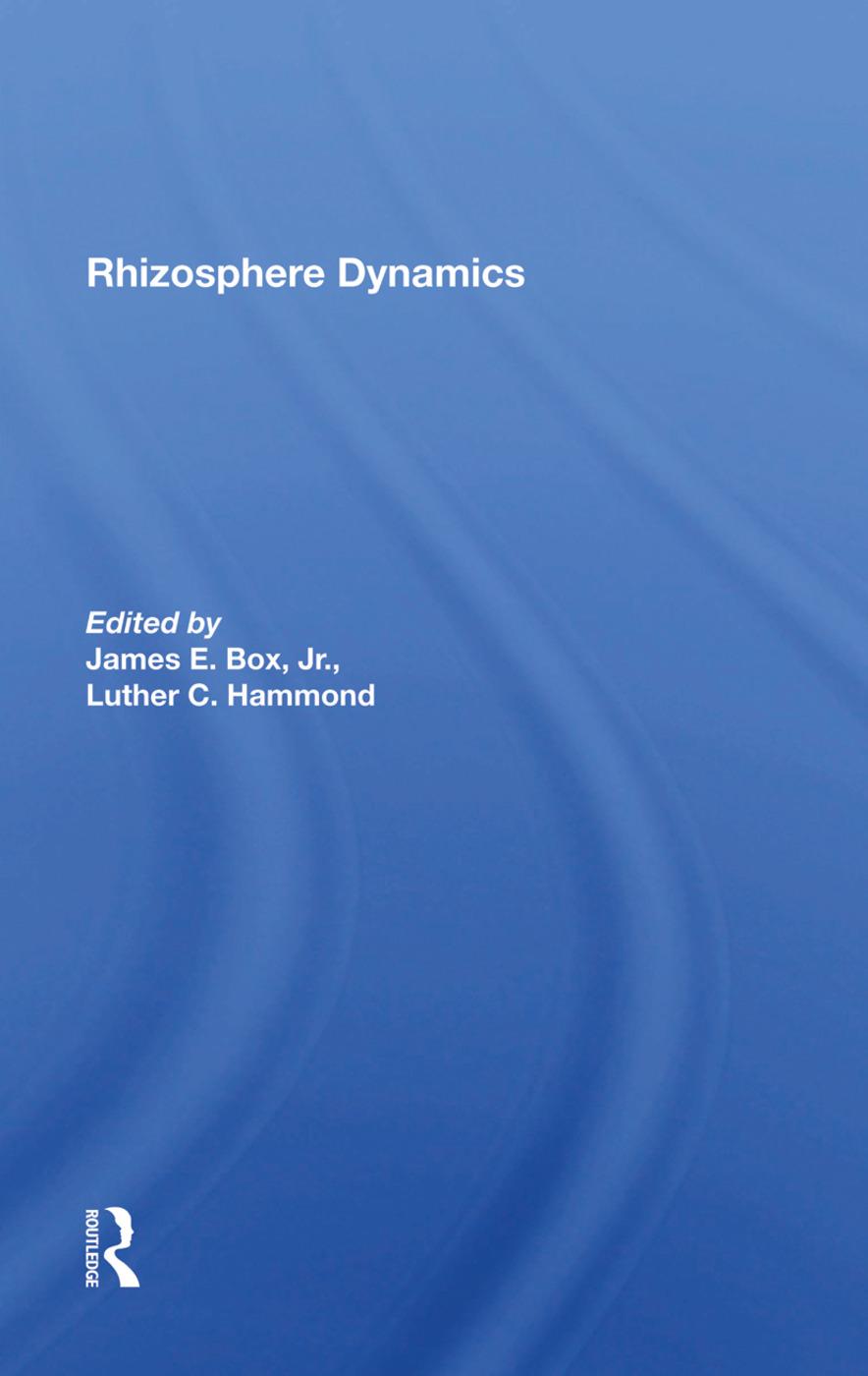 Rhizosphere Dynamics: 1st Edition (Hardback) book cover