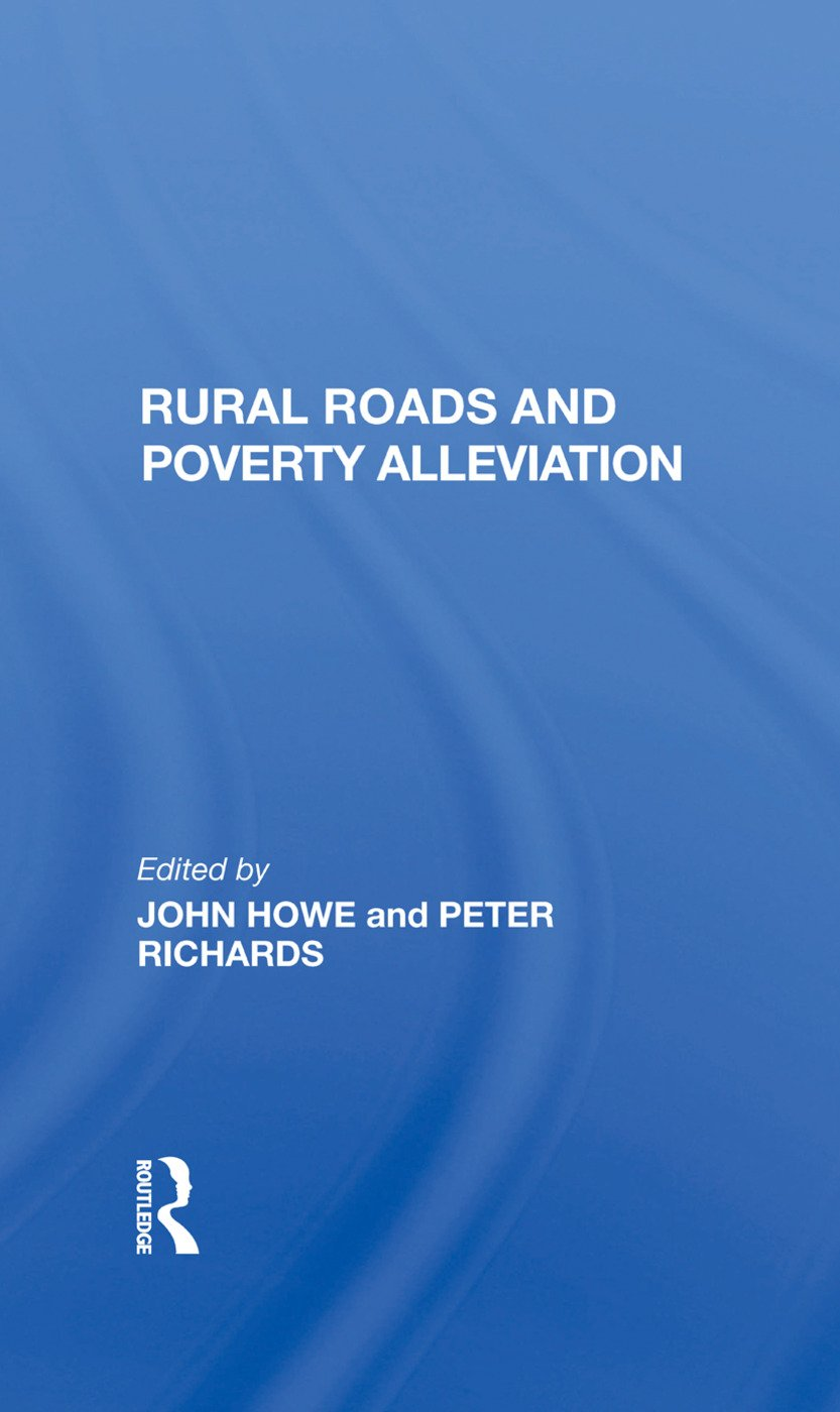 Rural Roads And Poverty Alleviation: 1st Edition (e-Book) book cover