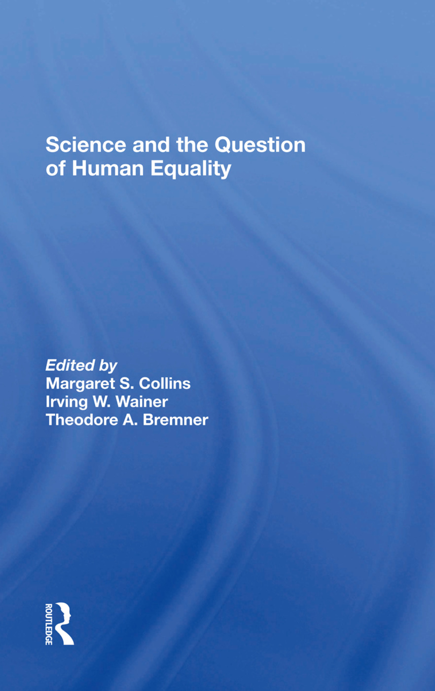 Science And The Question Of Human Equality: 1st Edition (e-Book) book cover