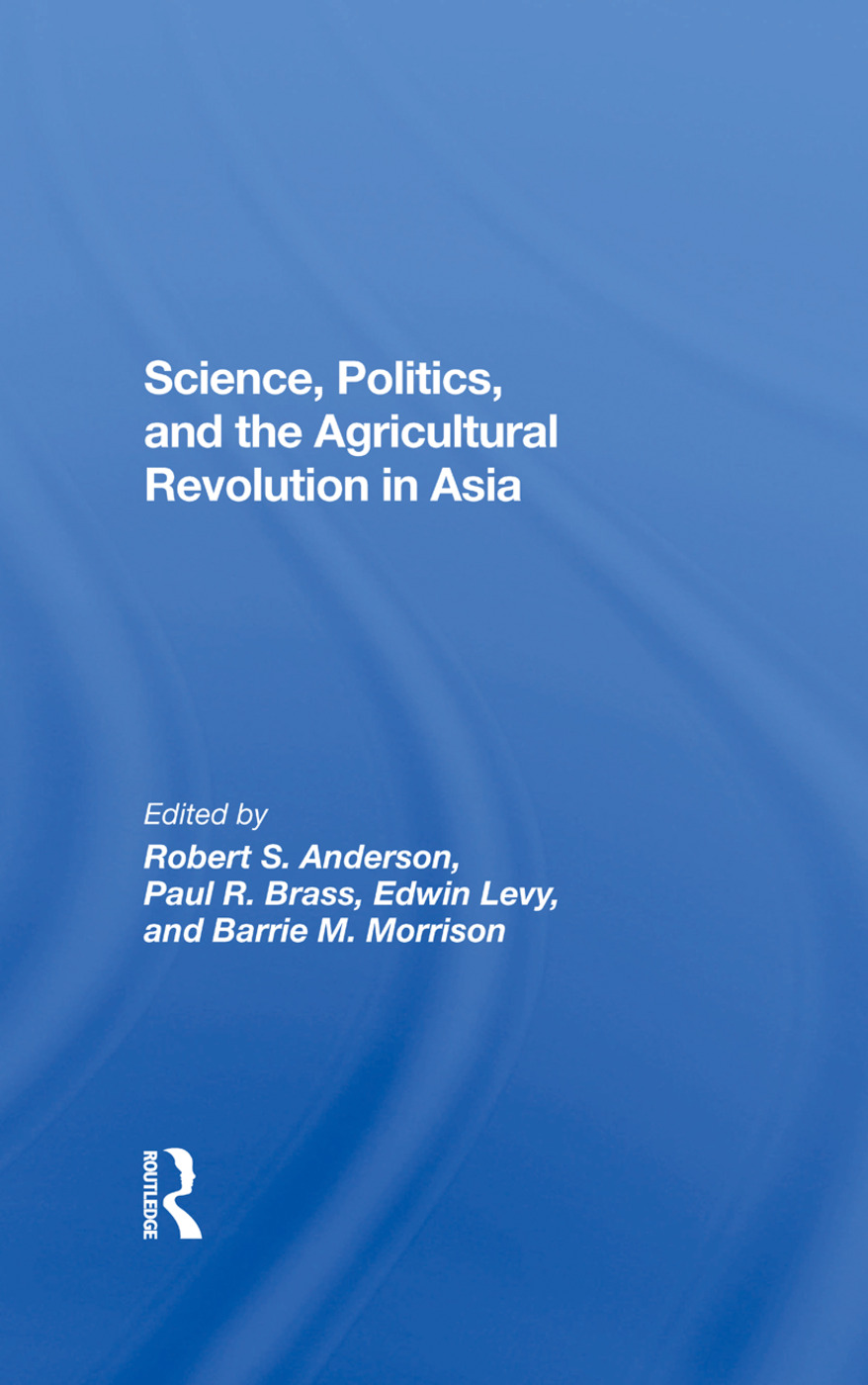 Science, Politics, And The Agricultural Revolution In Asia: 1st Edition (e-Book) book cover