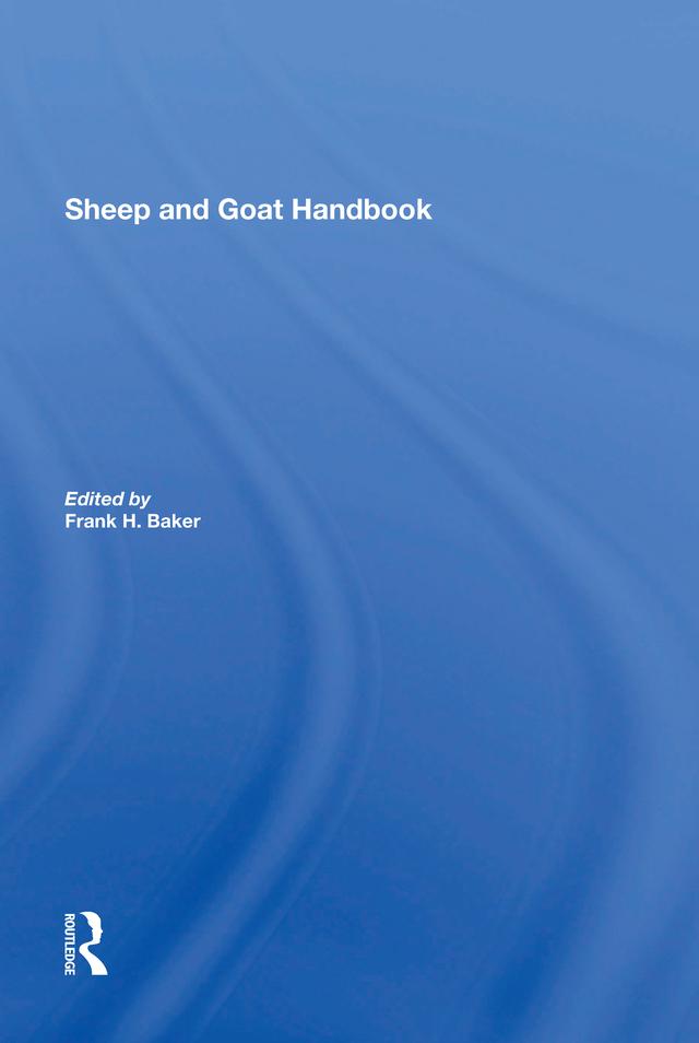 Sheep And Goat Handbook, Vol. 3: 1st Edition (Hardback) book cover