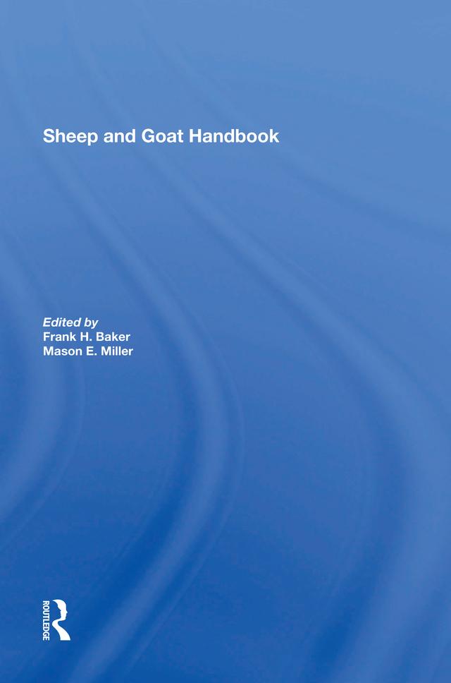Sheep And Goat Handbook, Vol. 4: 1st Edition (Hardback) book cover